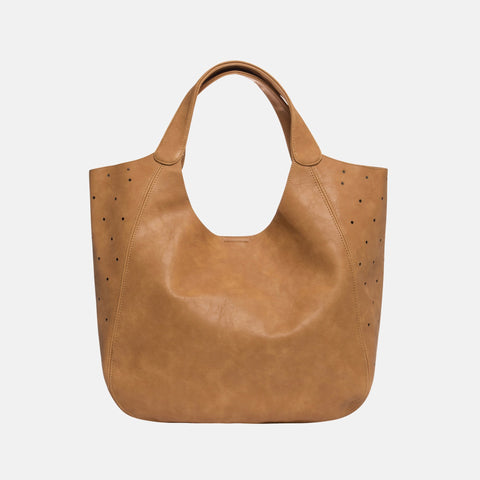Urban Originals - Masterpiece Perforated Tan Tote