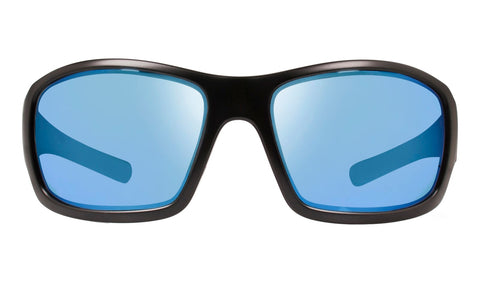 Revo - Maverick Bear Grylls 63mm Matte Black Sunglasses / Blue Water Polarized Lenses