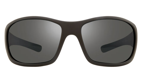 Revo - Maverick Bear Grylls 63mm Matte Black Sunglasses / Graphite Polarized Lenses