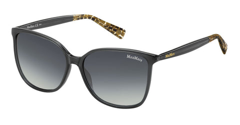Max Mara - Light I Dark Gray Sunglasses / Gray Gradient Lenses