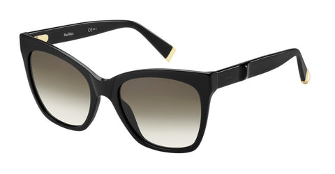Max Mara - Modern IV Black Sunglasses / Brown Gradient Lenses