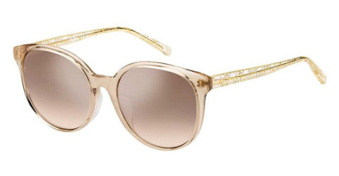 Max Mara - Twist I FS Nude Sunglasses / Brown Mirror Gradient Lenses