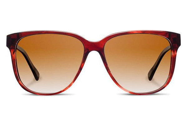Shwood - Mckenzie Acetate Sangria / Brown Fade Sunglasses