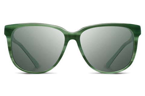 Shwood - Mckenzie Acetate Jade / G15 Polarized Sunglasses
