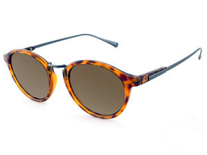 Peppers - Snazzy Matte Tortoise Sunglasses / Brown Polarized Lenses