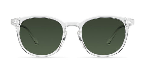 Meller - Bio Banna 45mm Minor Olive Sunglasses / Green Polarized Lenses