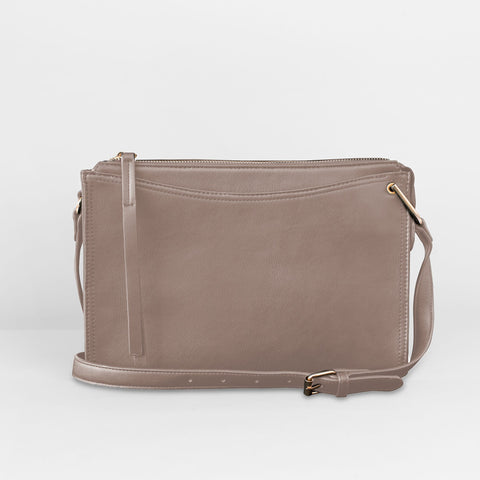 Urban Originals - Melody Taupe Crossbody Bag