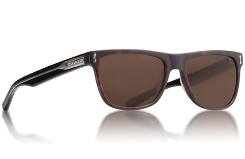 Dragon - Brake Matte Dark Tortoise Sunglasses / Brown Lenses