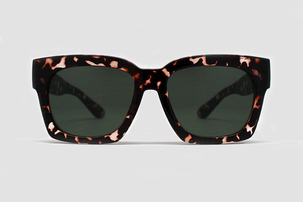 Quay Midnight Runner Tortoise Sunglasses