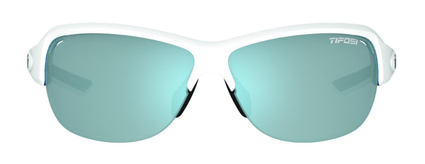 Tifosi - Mira Skycloud Sunglasses, Smoke Bright Blue Lenses