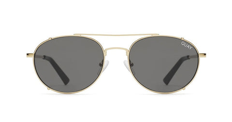 c98da8f8f8d Quay - Little J Gold Sunglasses   Smoke Lenses