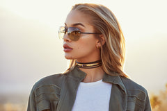 Quay Muse Fade Black / Brown Sunglasses