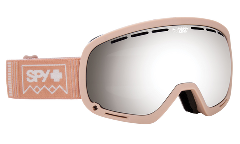 Spy - Marshall Deep Winter Rose Quartz Snow Goggles / Happy Gray Green Lenses