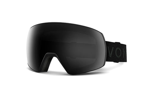 VonZipper - Satellite Black Snow Goggles / Blackout Lenses