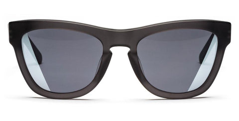 Westward Leaning - Pioneer 34 Matte Black Acetate Sunglasses / Horizon Silver Lenses