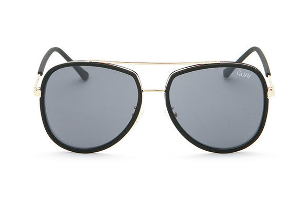 Quay Needing Fame Black / Smoke Sunglasses