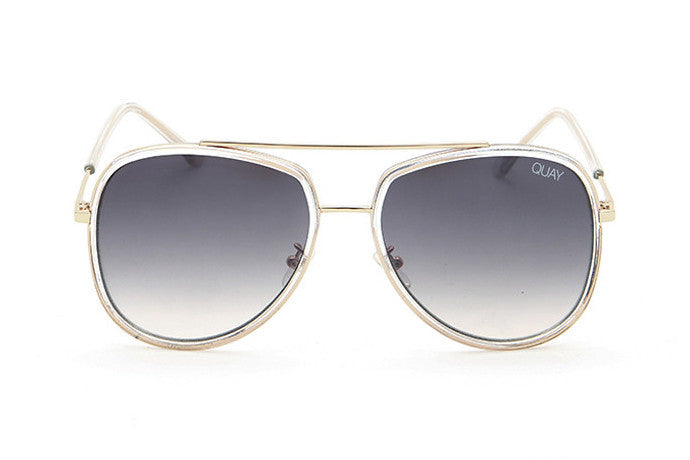 Quay Needing Fame Clear   Brown Sunglasses – New York Glass c0edec4adc