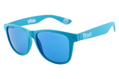 Neff - Daily Blue Rubber Sunglasses