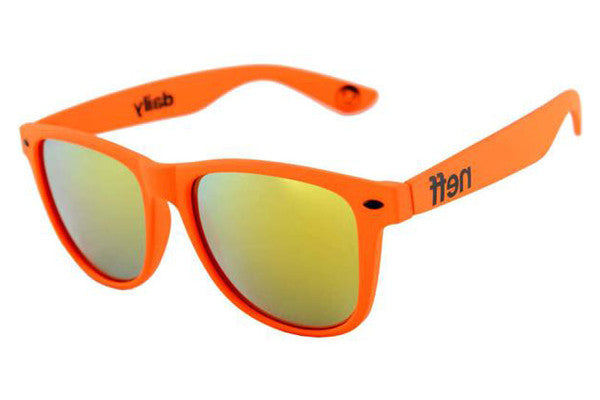 Neff - Daily Orange Rubber Sunglasses