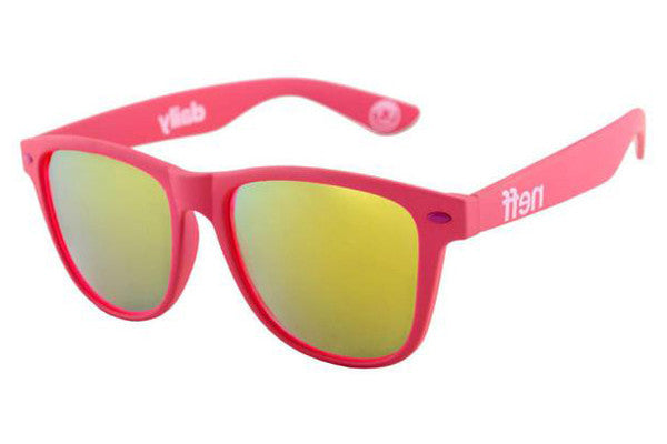 Neff - Daily Pink Rubber Sunglasses