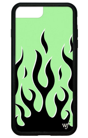 Wildflower - Neon Flames iPhone 6/7/8+ Case