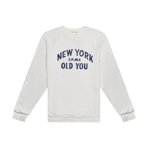 Deus Ex Machina - New You Crew White Chalk Sweatshirt
