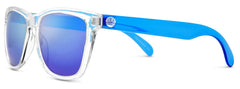 Sunski - Originals Clear Sunglasses / Blue Polarized Lenses
