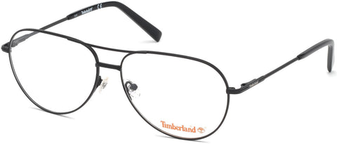 Timberland - TB1630 Matte Black Eyeglasses / Demo Lenses