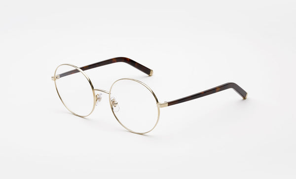 85a1a12c797e Super Numero 33 Oro White Gold Eyeglasses   Demo Lenses – New York Glass
