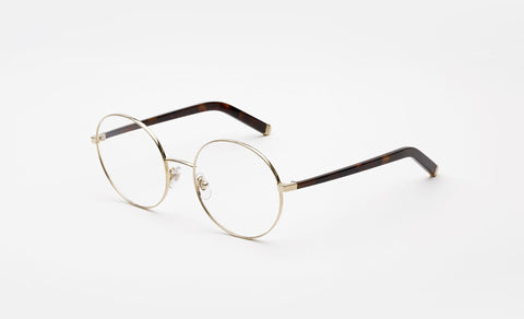 Super Numero 33 Oro White Gold Eyeglasses / Demo Lenses