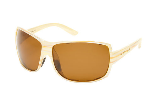 Native - Chonga Pearl Swirl Sunglasses, Polarized Brown Lenses