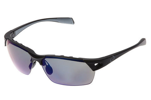 Native - Eastrim Asphalt Sunglasses, Polarized Blue Reflex Lenses