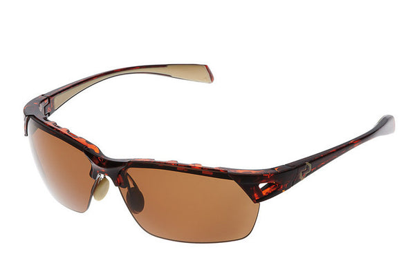 Native - Eastrim Maple Tort Sunglasses, Polarized Brown Lenses