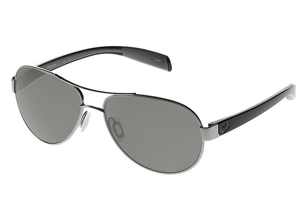 Native - Haskill Chrome/Iron Sunglasses, Polarized Gray Lenses