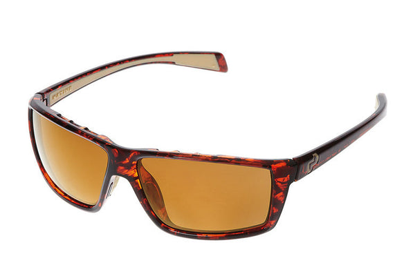 Native - Sidecar Maple Tort Sunglasses, Polarized Bronze Reflex Lenses