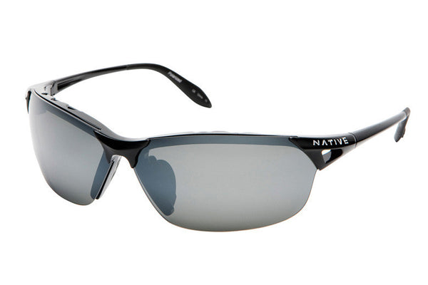 Native - Vigor Iron Sunglasses, Polarized Silver Reflex Lenses