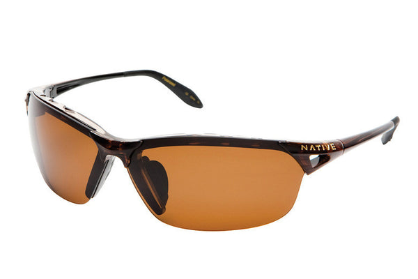 Native - Vigor Wood Sunglasses, Polarized Brown Lenses