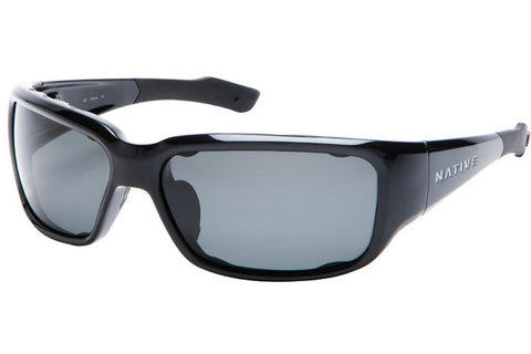 Native Bolder Iron Sunglasses, Polarized Gray Lenses
