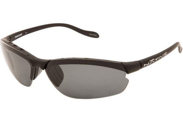 Native - Dash XP Asphalt Sunglasses, Polarized Gray Lenses