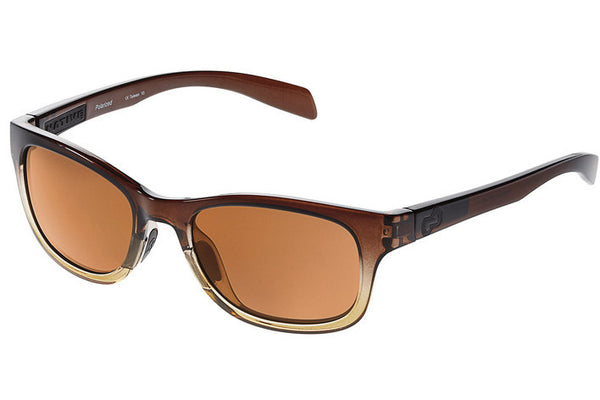 Native Highline Stout Fade Sunglasses, Polarized Brown Lenses