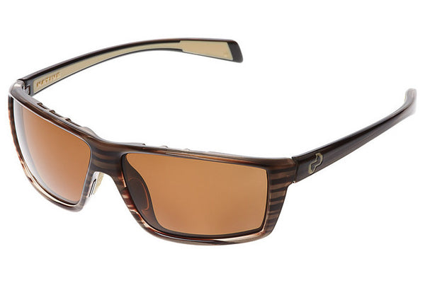 Native Sidecar Wood Sunglasses, Polarized Brown Lenses