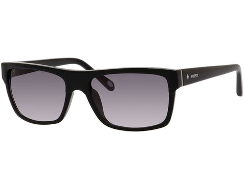 Fossil - 3046  Black  Sunglasses / Gray Gradient Lenses