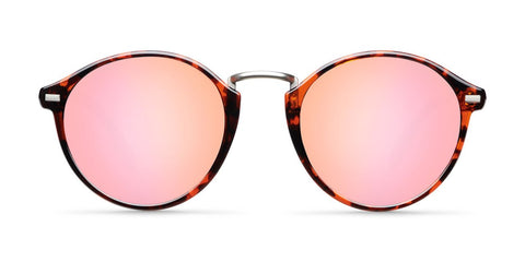 Meller - Nyasa 47mm Glawi Roose Sunglasses / Pink Polarized Lenses
