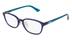 Puma - PJ0017OJ Junior Blue + Light Blue Eyeglasses / Demo Lenses