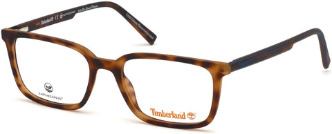 Timberland - TB1621 53mm Dark Havana Eyeglasses / Demo Lenses