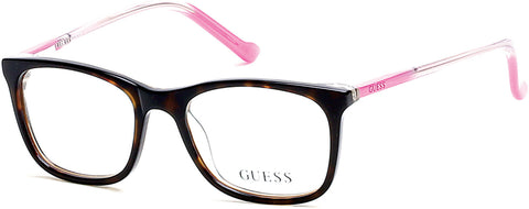 Guess - GU9164 Dark Havana Eyeglasses / Demo Lenses