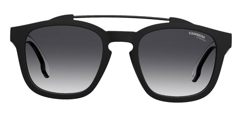 Carrera - 1011 Matte Black Sunglasses / Dark Gray Gradient Lenses