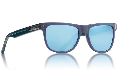 Dragon - Brake Matte Crystal Navy Sunglasses / Blue Lenses