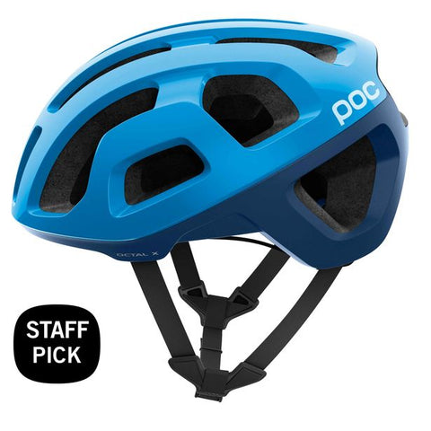 POC - Octal X Spin Medium Furfural Blue Bike Helmet