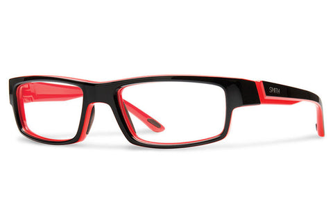 Smith - Odyssey Black Red Rx Glasses
